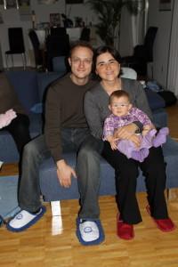 Mathias Claudia mit Laura Maria