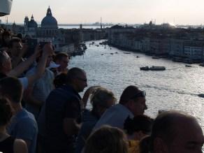 Auf dem Canale Grande in Venedig