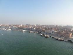 Fahrt zum Hafen in Venedig