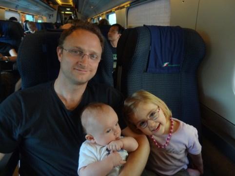 Heimreise mit dem Zug von Venedig nach Zürich