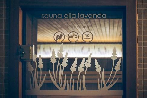 QC Terme Pre Saint Didier Sauna alla lavanda