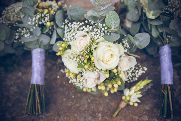 lavander and roses bouquet