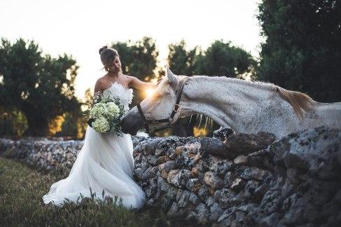 bride portrait in puglia