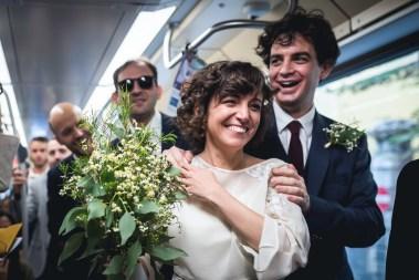 matrimonio in tram milano