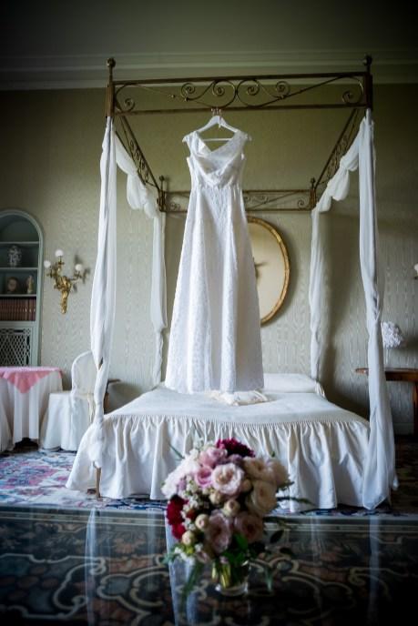 villa muggia bride preparation