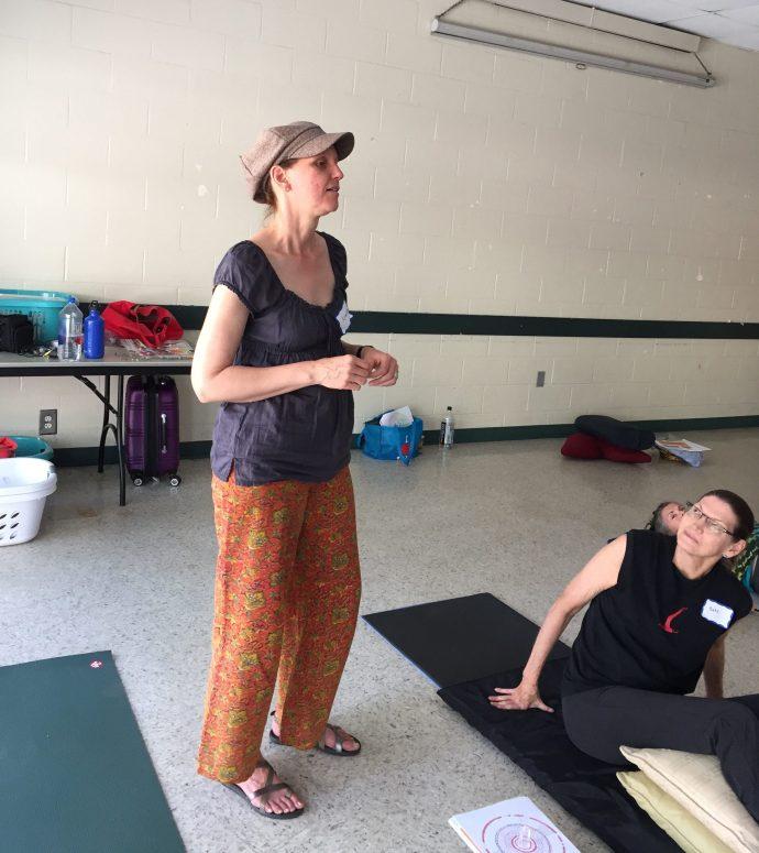 doodle mandala class with Claudia Dose