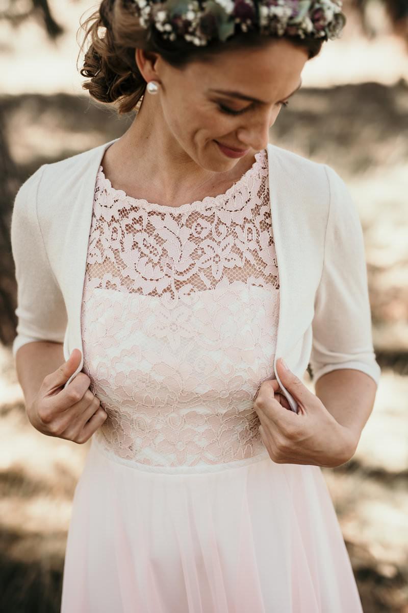 Standesamtkleid Kln kurz oder mit Spitze Boho oder Vintage