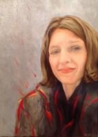 Portrait. Öl auf Leinwand, 30 x 40 cm, 2016