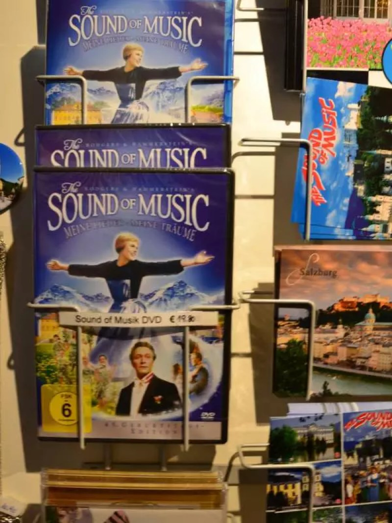Sound of Music Postkarten