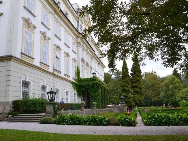 Der Schlosspark von Leopoldskron