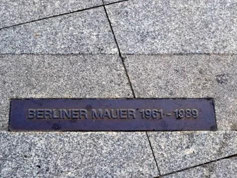 Ehemalige Grenze Berlin