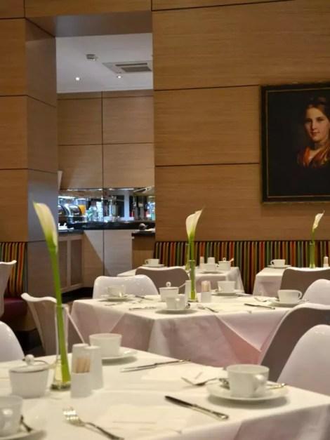 Frühstücksraum Derag Livinghotel an der Oper