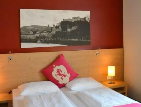 Zimmer Hotel villa Carlton Salzburg