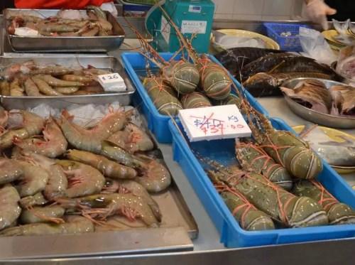 Krabben und Hummer