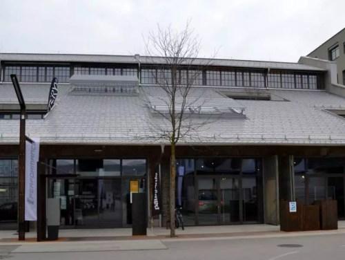 Panzerhalle Eingang
