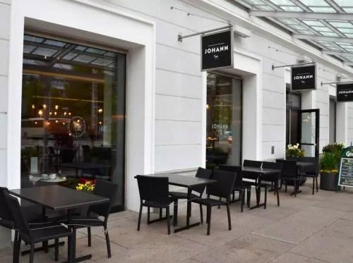 Café Johann außen
