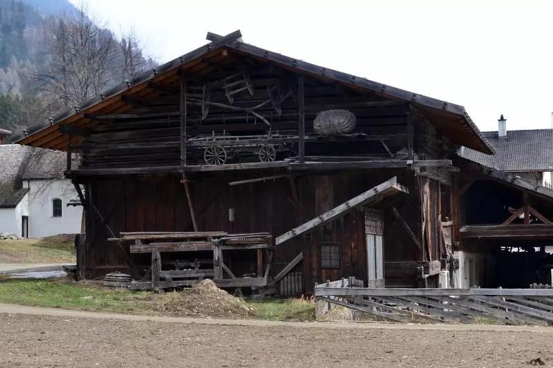 Scheune Ultental