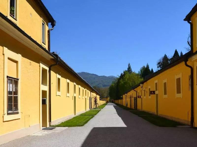 Hellbrunn Zufahrt