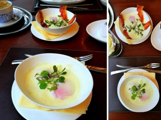Ei im Glas; meine Salzburger Frühstücks-Kaffeehäuser; Carpe Diem Lounge-Café