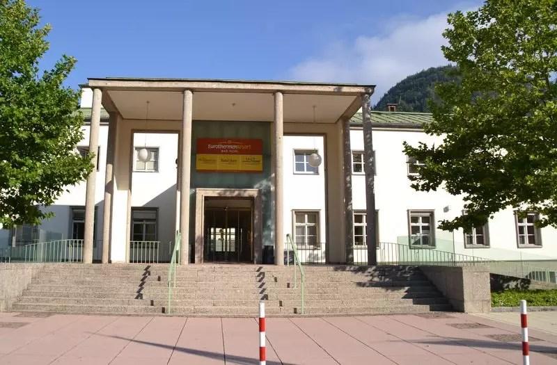 ehemaliges Kurmittelhaus in Bad Ischl