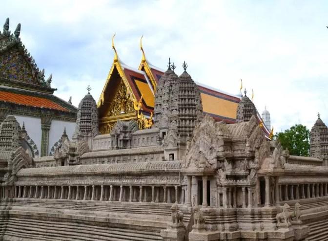 Nachbildung Angkor Wat in Bangkok