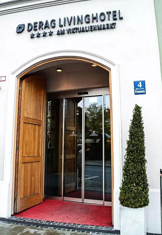 Eingang Hotel Derag am Viktualienmarkt