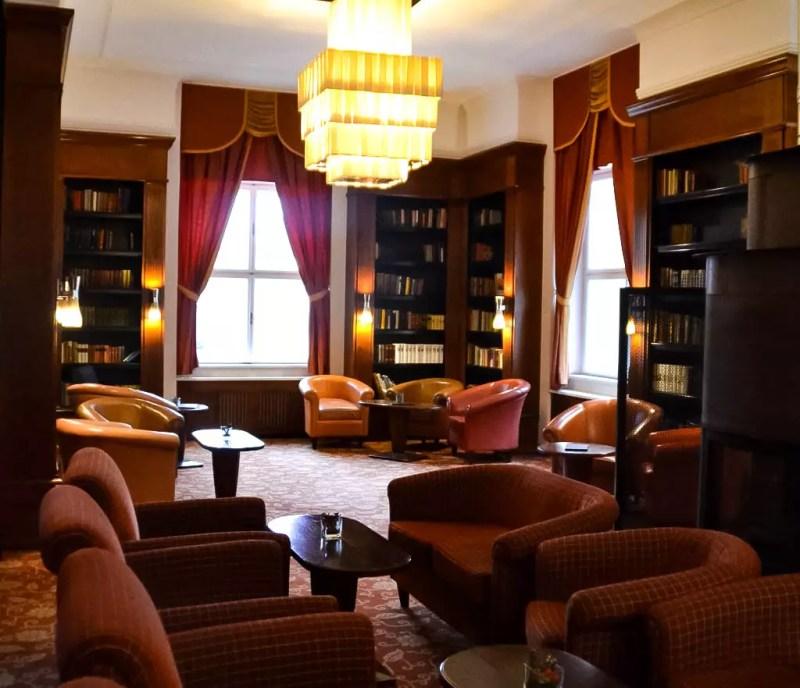 Bibliothek im Falkensteiner Hotel Marienbad