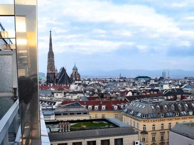 Über den Dächern von Wien; Schick Boutique Hotel am Parkring