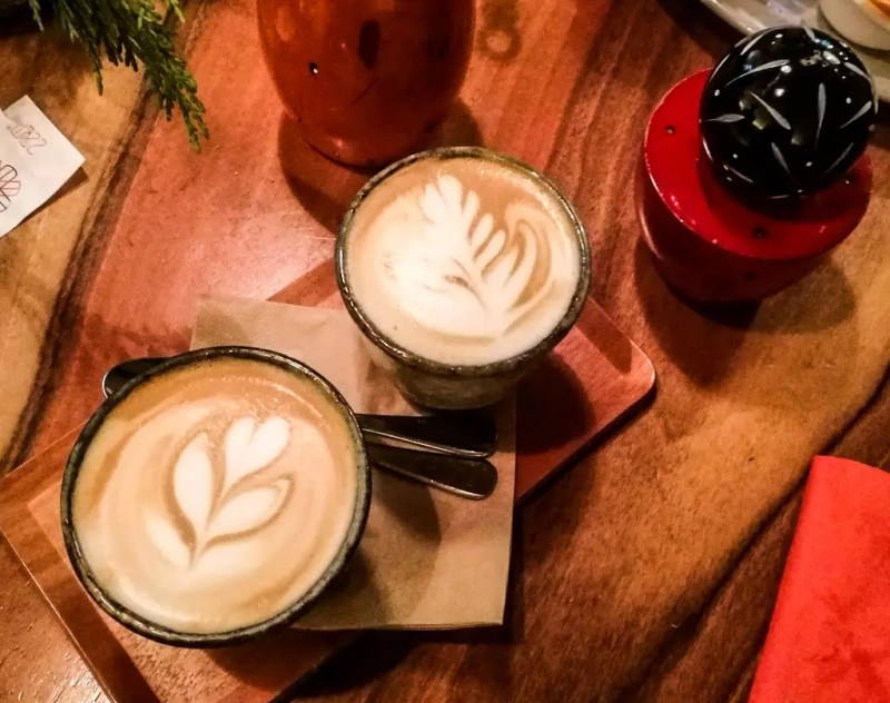 Kaffee im Café 220 Grad