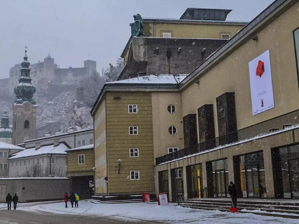 Führung durch die Salzburger Festspielhäuser