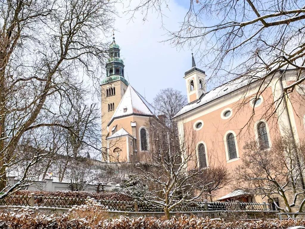 Stadtpfarrkirche im Salzburger Stadtteil Mülln