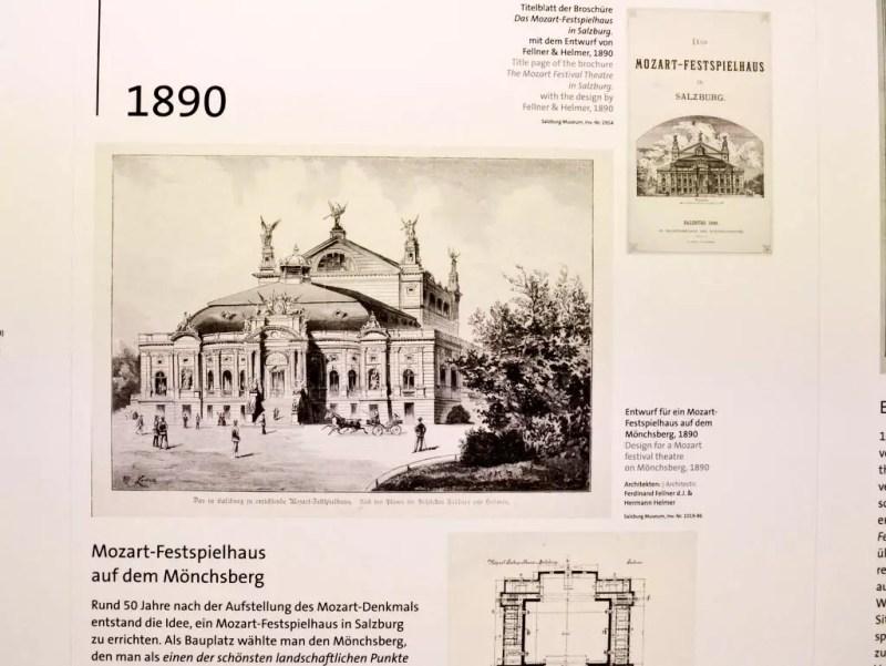 Erste Pläne Festspielhaus Salzburg