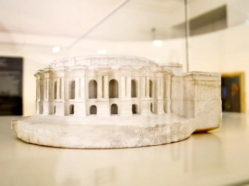 Originalmodell Festspielhaus Gauforum Salzburg