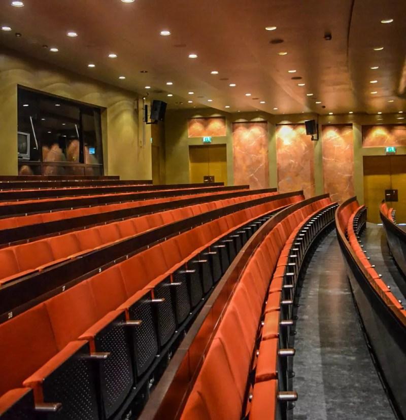 Leerer Zuschauerraum Festspielhaus