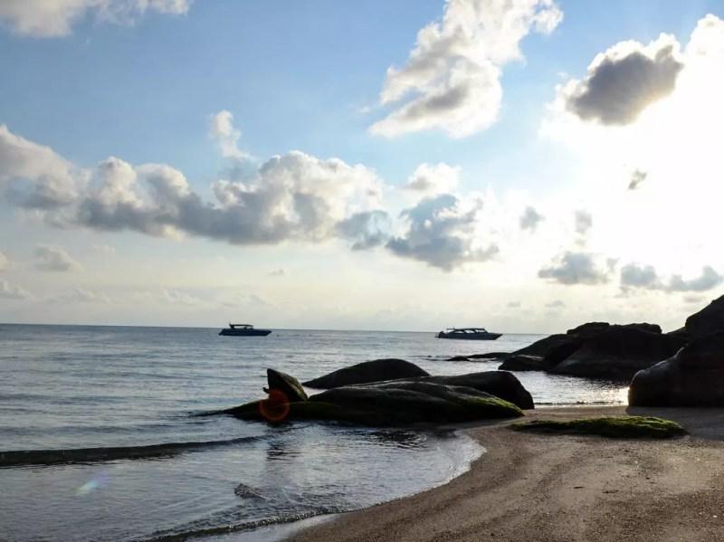 Bucht vor dem Buri Rasa Phanagan