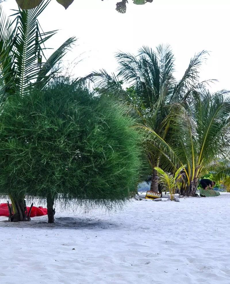 Sandstrand auf Koh Phanagan
