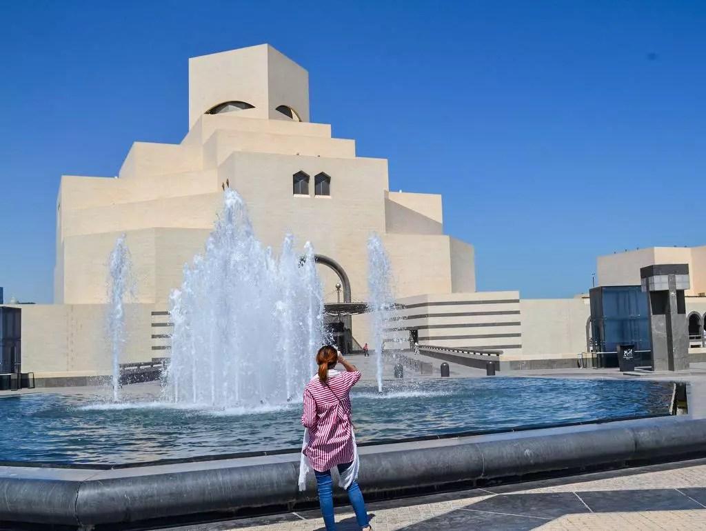Museum der islamischen Kunst in Doha Aussenansicht