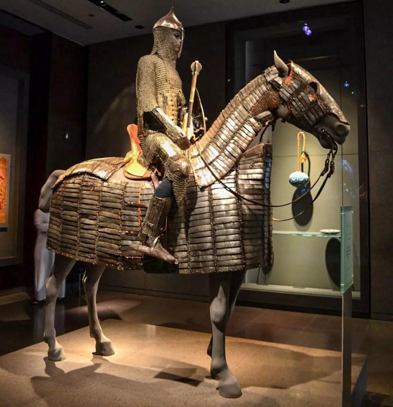 Arabischer Reiter im MIA Doha