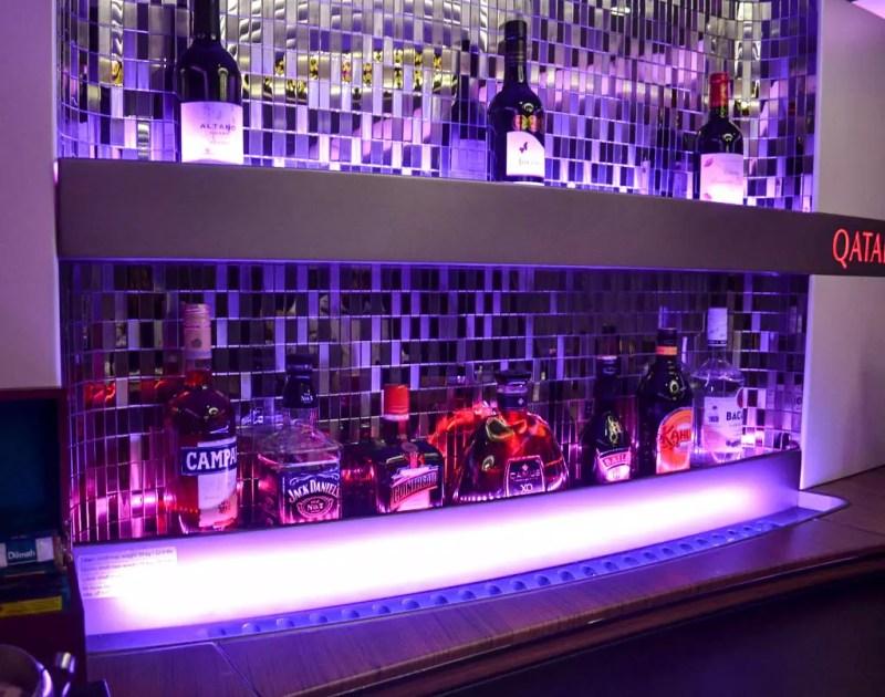 Bar im A380 Qatar Airways