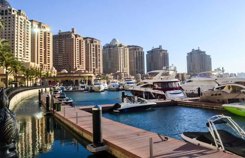 Hafen in The Pearl Doha