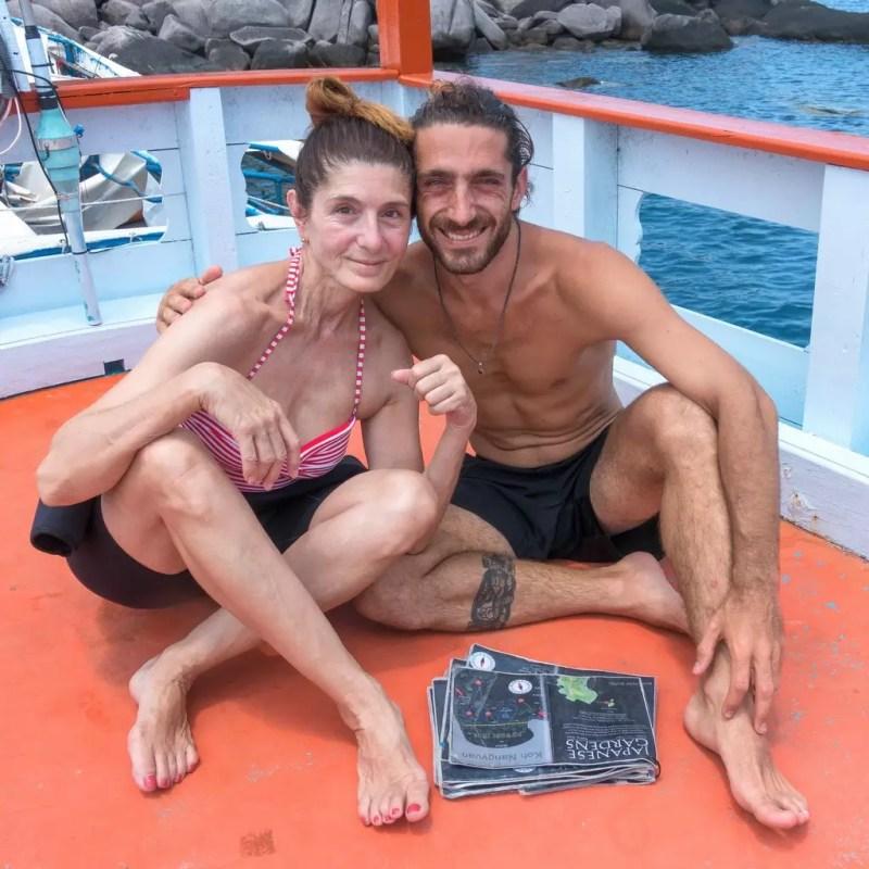 Claudia und Benni auf Koh Tao