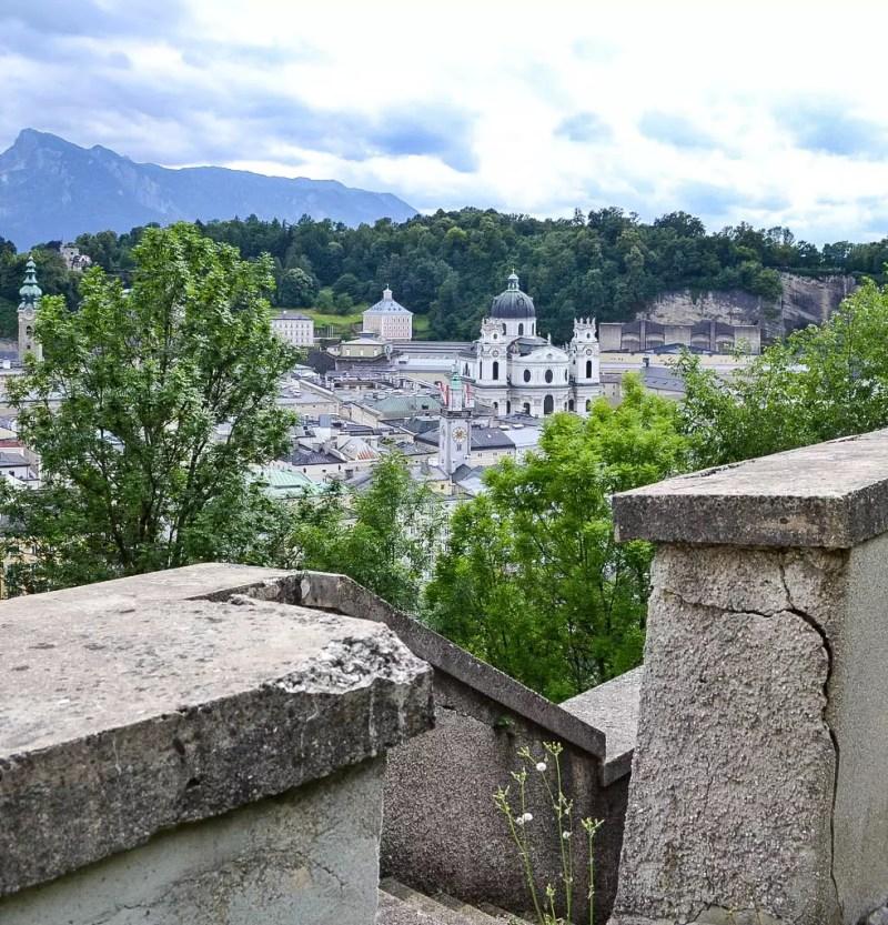 Ehemaliger Weg in die Stadt Salzburg