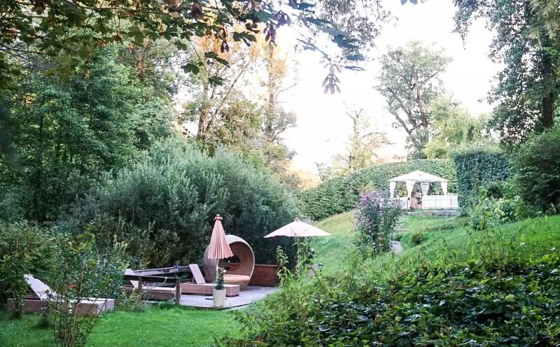 Garten Schlosswirt Anif