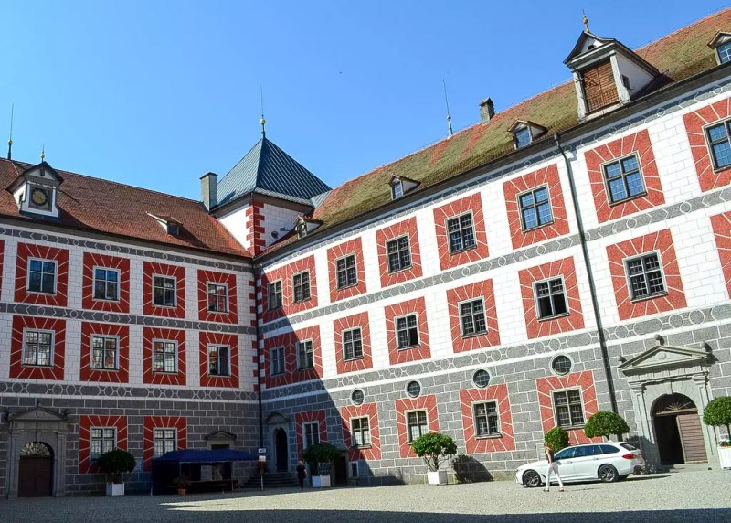 Schloss Wolfegg Innenhof