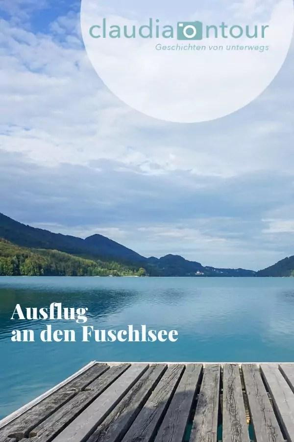 Herbstausflug an den Fuschlsee im Salzkammergut.