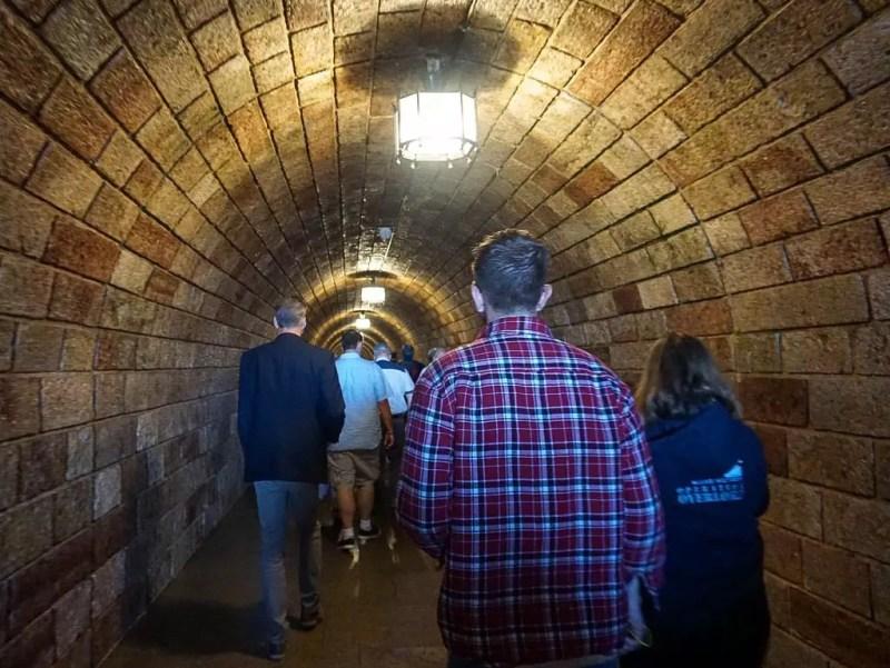 Tunnel zum Kehlsteinlift