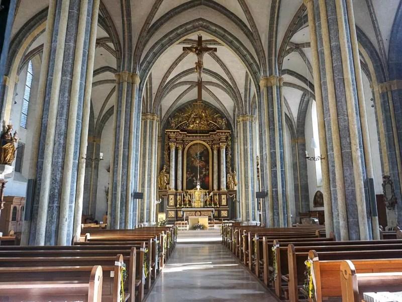 Stiftskirche Laufen Innenraum