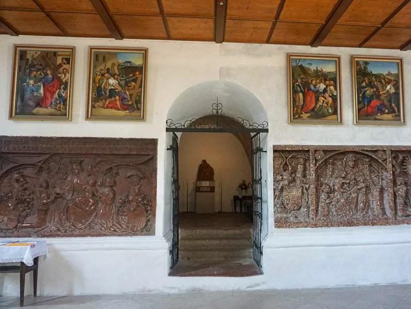 Andachtsraum Stiftskirche Laufen