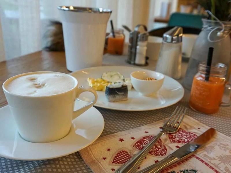 Frühstück Frauenschuh