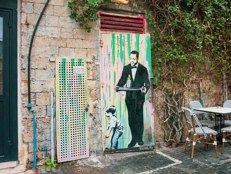 Graffito in Jaffa
